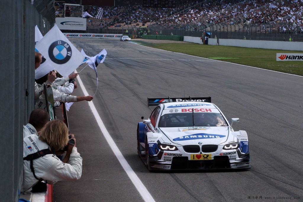 BMW M3 包揽2013 DTM德国房车大师赛首站冠亚军高清图片