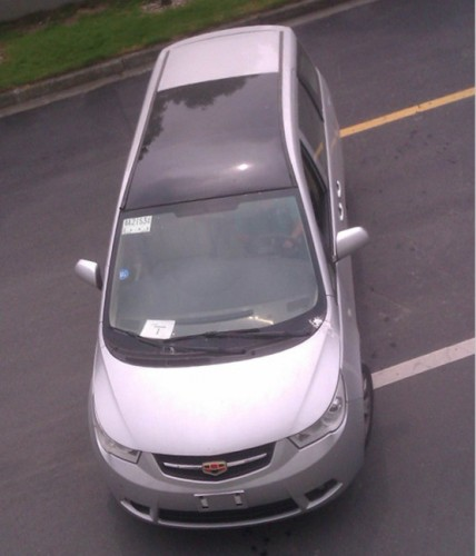 吉利帝豪EV8申报图-帝豪首款MPV EV8申报图 剑指比亚迪M6高清图片
