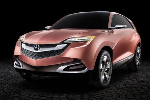 广汽本田讴歌中大型豪华SUV X 2016年投产高清图片