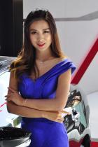 2016西博车展传祺车模