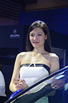 2017西博车展讴歌展台车模