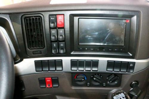 车界动态 > 车界动态          乘龙h5拥有欧洲级大空间,驾驶室采用平